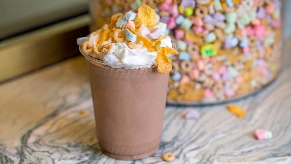 Compartés frozen hot chocolate