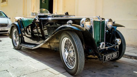 Corinthia Palace Hotel & Spa Vintage Car Ride Package