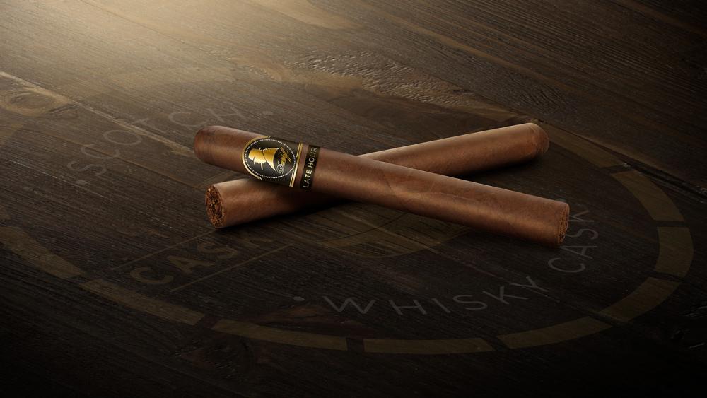 Winston Churchill The Late Hour by Davidoff cigar