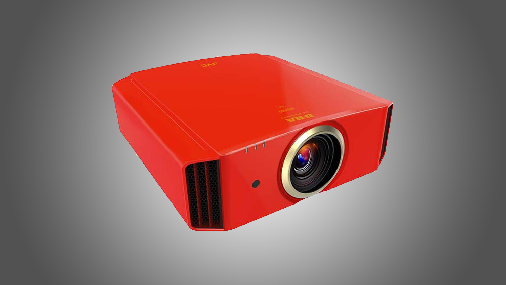 JVC D-ILA 20th Anniversary Limited Edition Projector red color