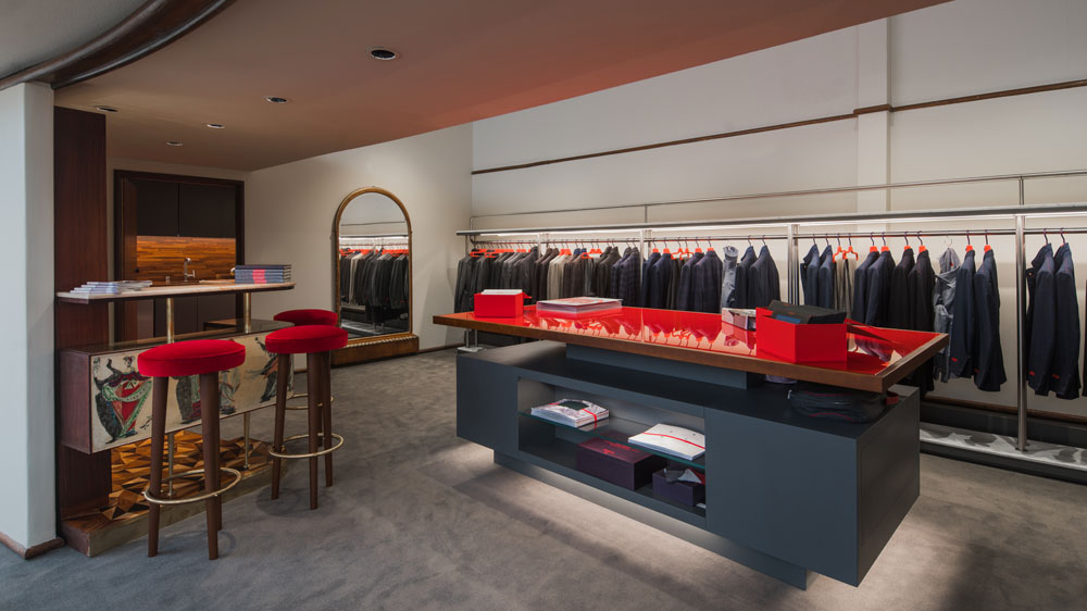 Isaia's New San Francisco Boutique