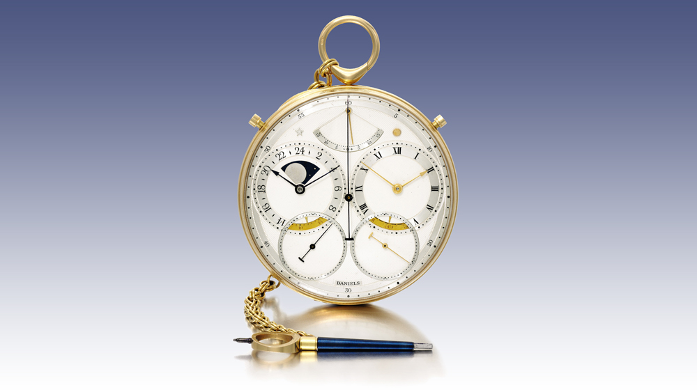 George Daniels' Space Travellers Pocket Watch