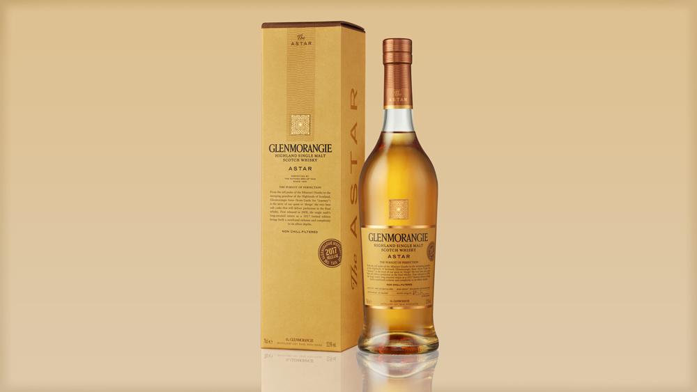 Glenmorangie Astar 2017 whisky bottle