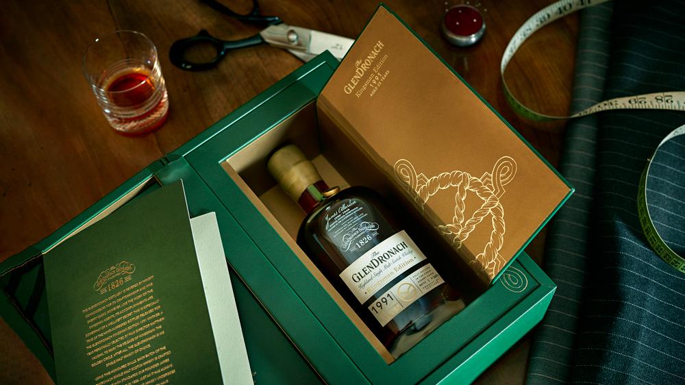 GlenDronach Kingsman Whisky box