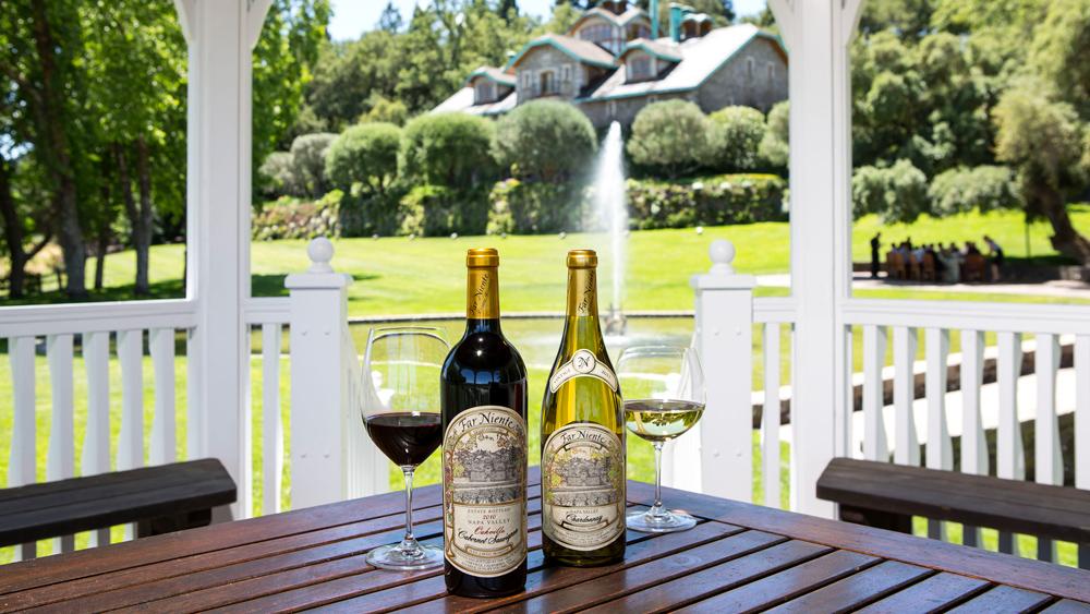 bottles of wine Far Niete Vineyard