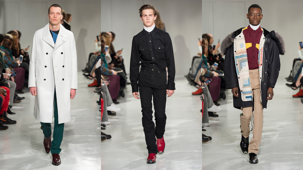 Raf Simons's First Menswear Collection for Calvin Klein