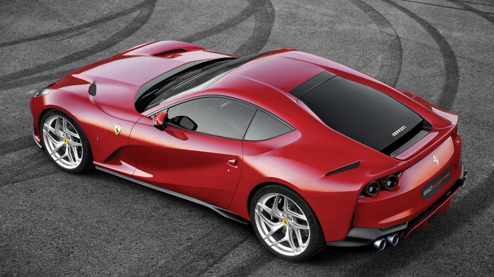 Ferrari 812 Superfast Is A Curvaceous Catapult Robb Report