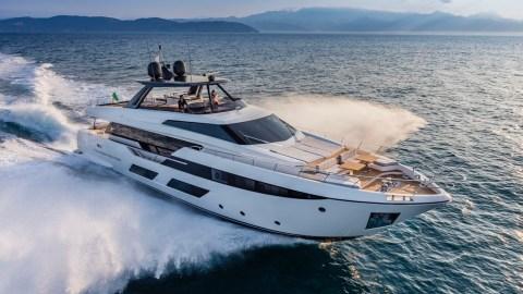 Ferretti Yachts 920 Italian yacht