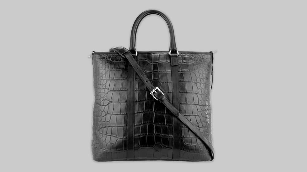 black Frank Clegg tote bag