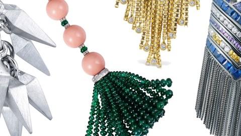 Fringe Jewelry collage