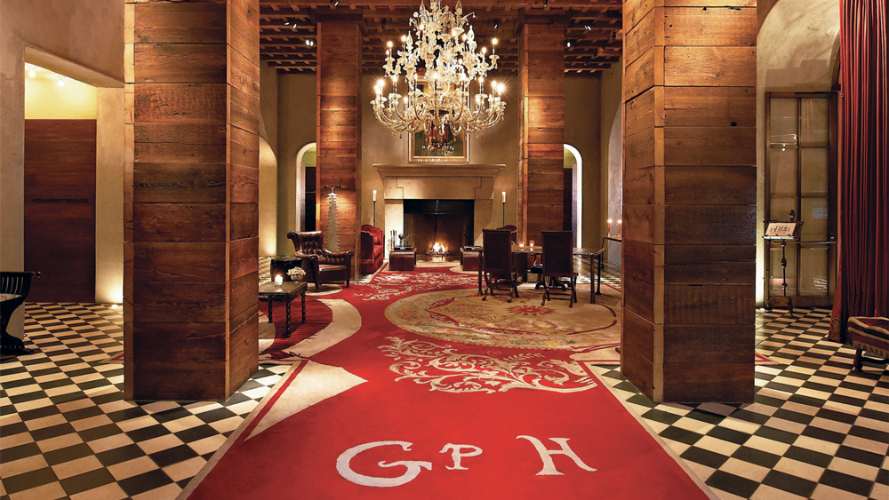 Lobby of the Gramercy Park Hotel in Manhattan