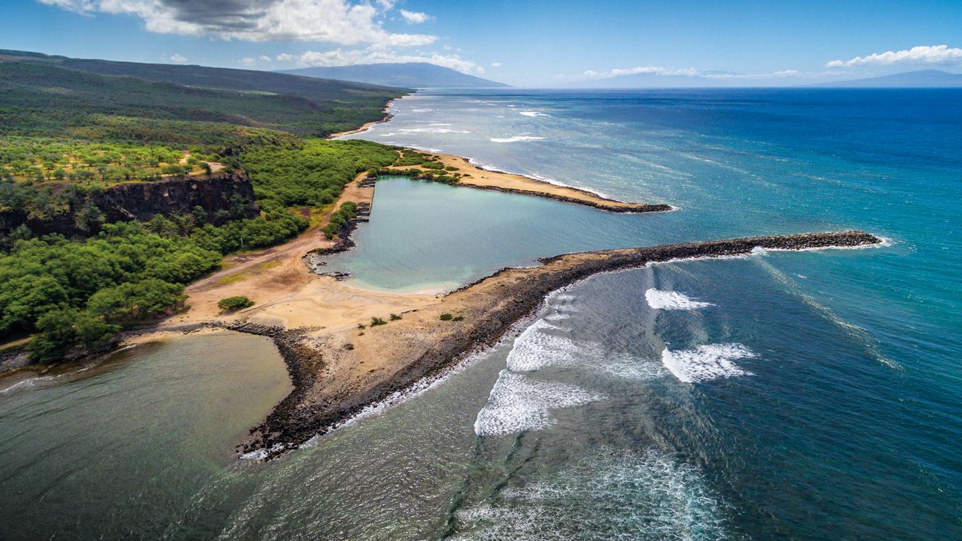 ocean, land, peninsula