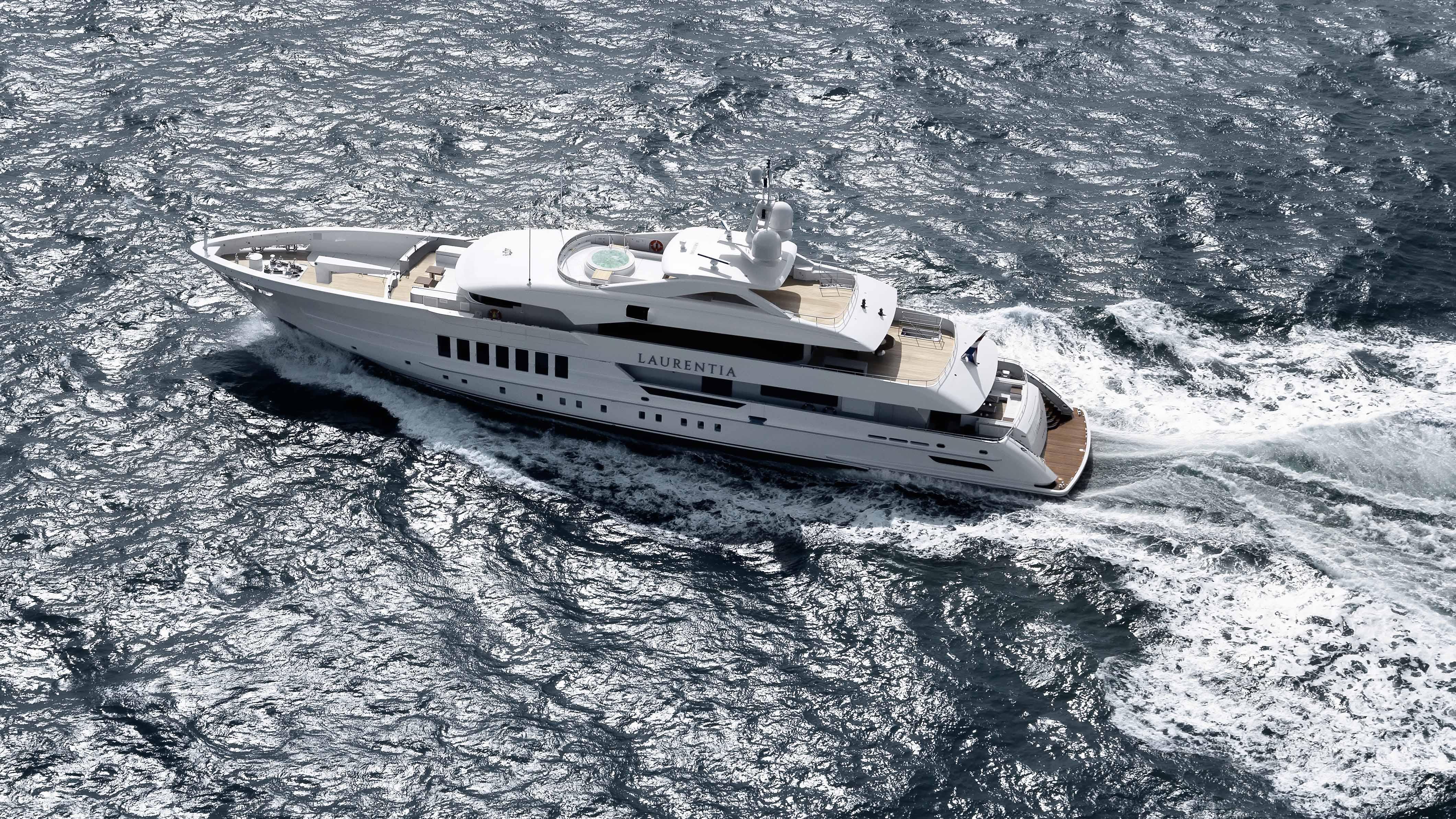 Heesen superyacht Laurentia Netherlands Dutch yacht