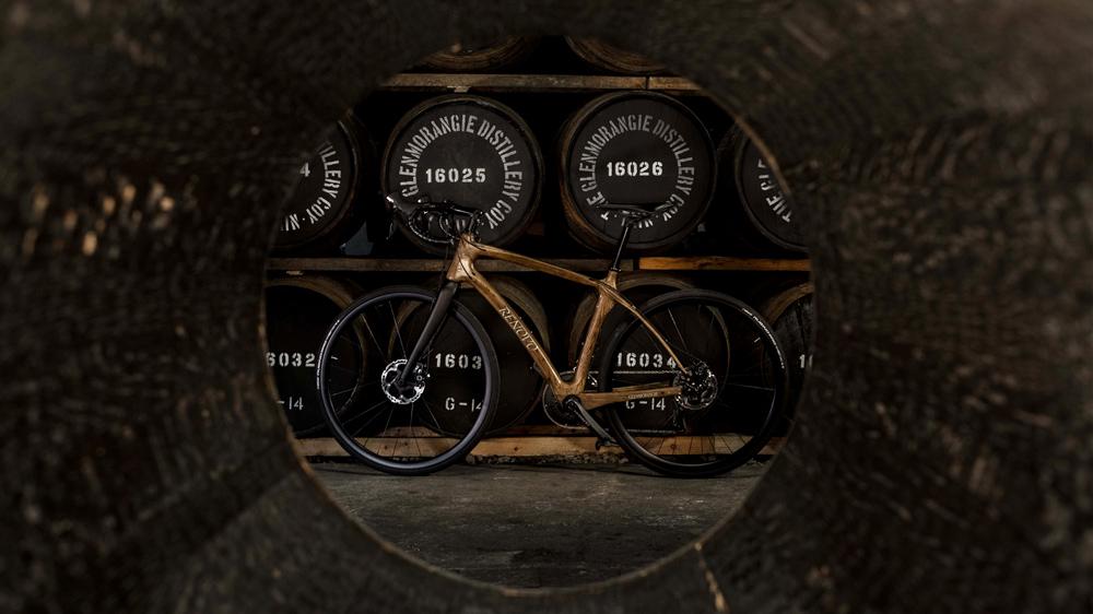 Glenmorangie Original by Renovo wood bike distillery