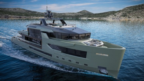 Arcadia Yachts 47m For.Th Superyacht Italian eco