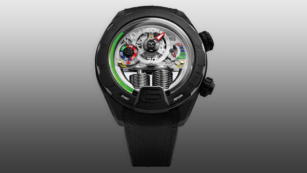 HYT H4 Panis-Barthez Compétition watch