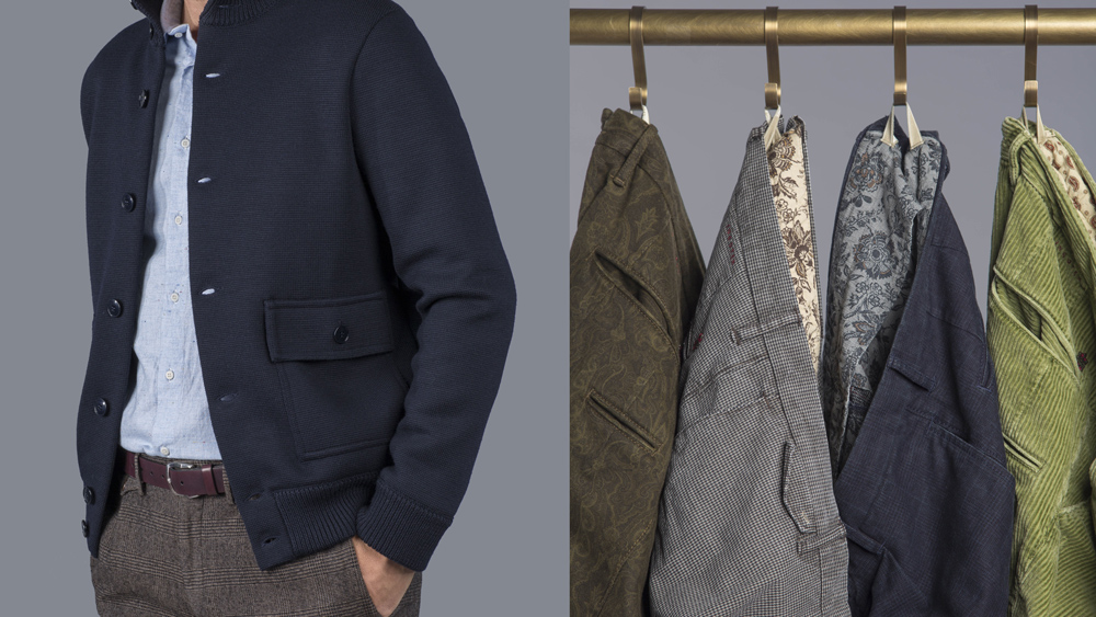 Slowear jacket and pants corduroy