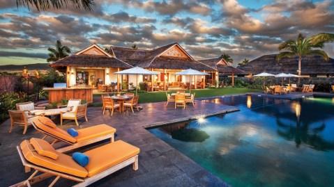 Kohanaiki luxury resort