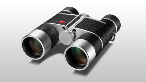 Leica Trinovid 7x35 with leather and silver