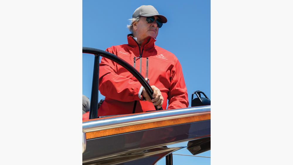 Loro Piana fashion yacht-wear