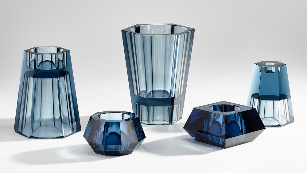Barbara Barry designed new accessories for Atelier Swarovski Home