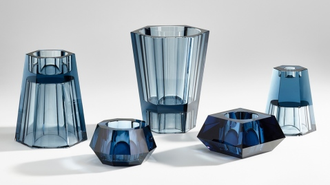 Barbara Barry designed new accessories for Atelier Swarovski Home