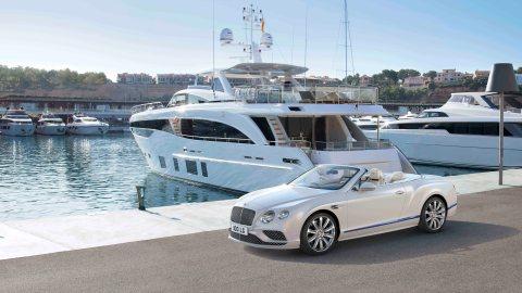 Bentley Continental GT Convertible Galene Edition Princess Yachts Mulliner