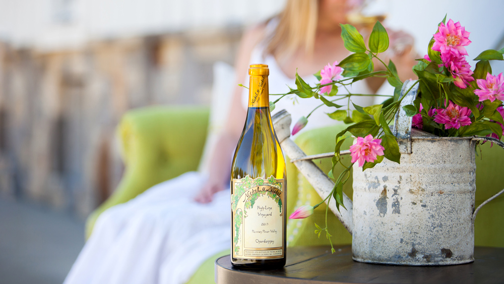 bottle chardonnay Nickel & Nickel Vineyard