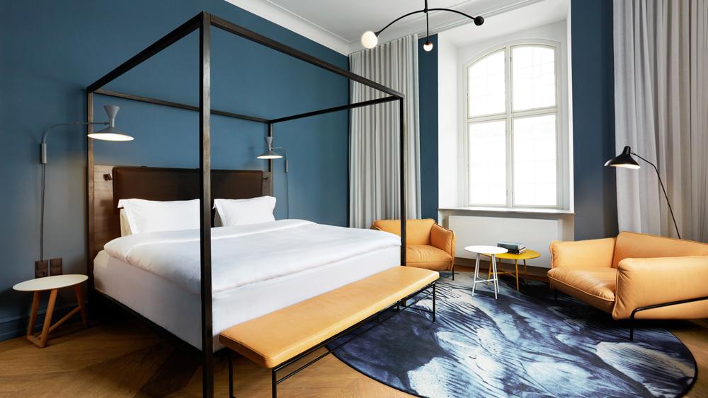 hotel suite bedroom Copenhagen