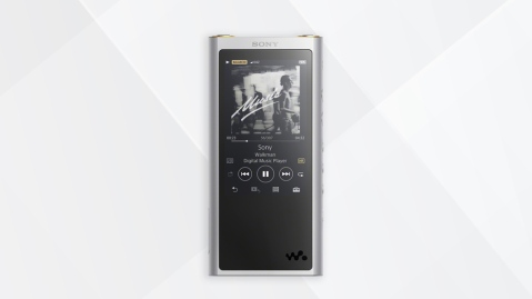 front view of the Sony Walkman NW-ZX300