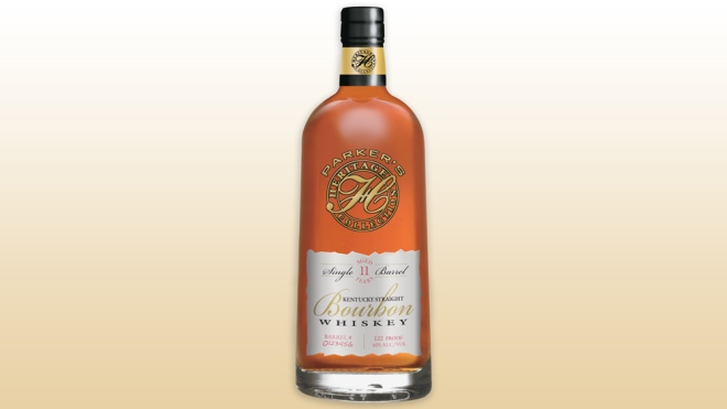 bottle of 2017 Parker's Heritage Collection whiskey