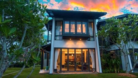villa exterior thailand
