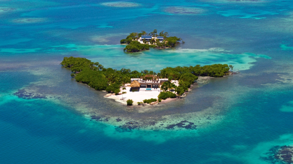 tropical island Caribbean