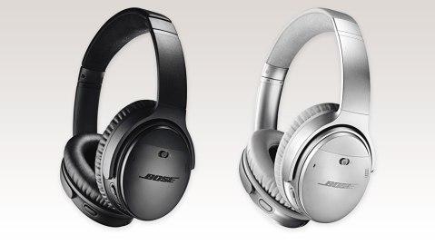 Bose QuietComfort 35 II wireless headphones black and silver
