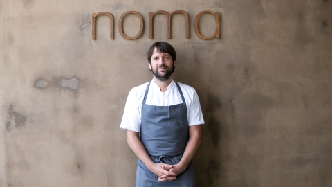 René Redzepi at Noma