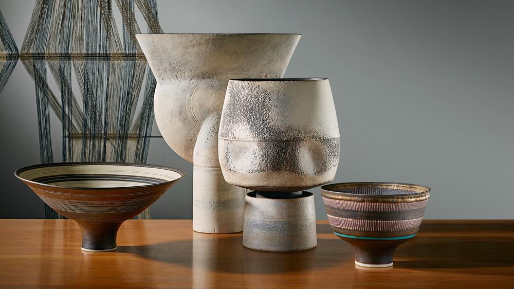 Rie, Coper, Collingwood vaseware