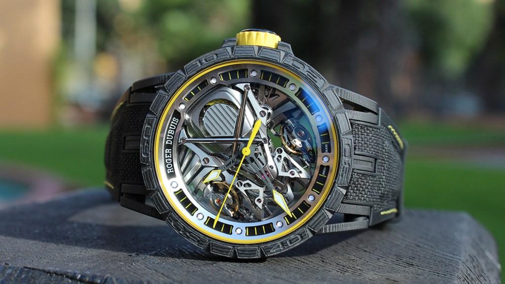 Roger Dubuis Excalibur Aventador S Watch