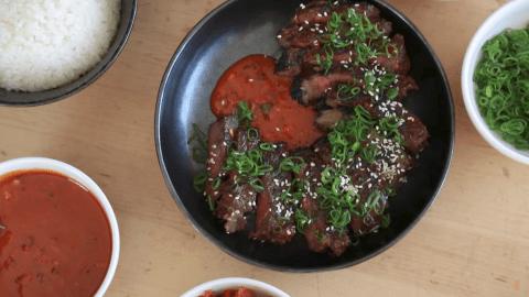 korean grilled beef