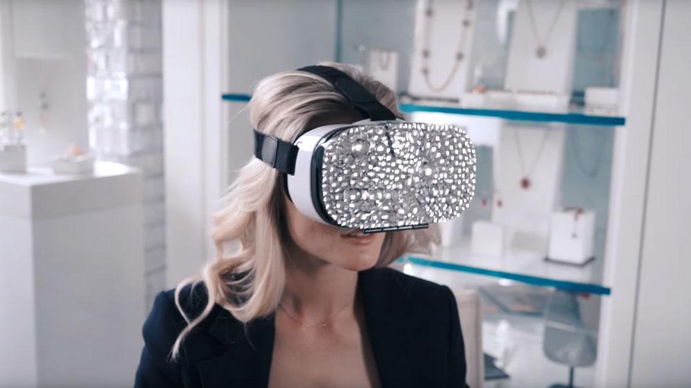 Swarovski and Mastercard Virtual Showroom VR app