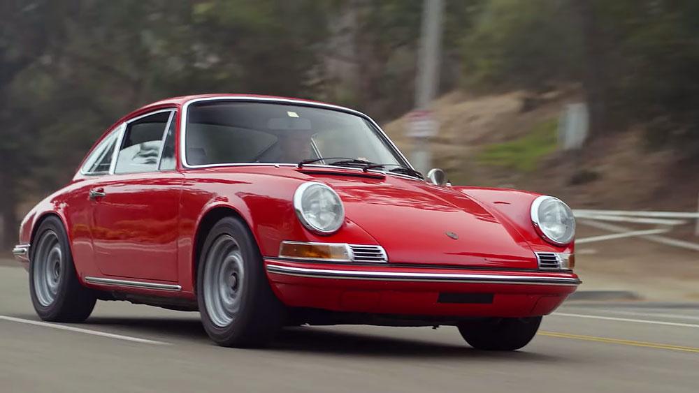 A 1969 Porsche 911 T.