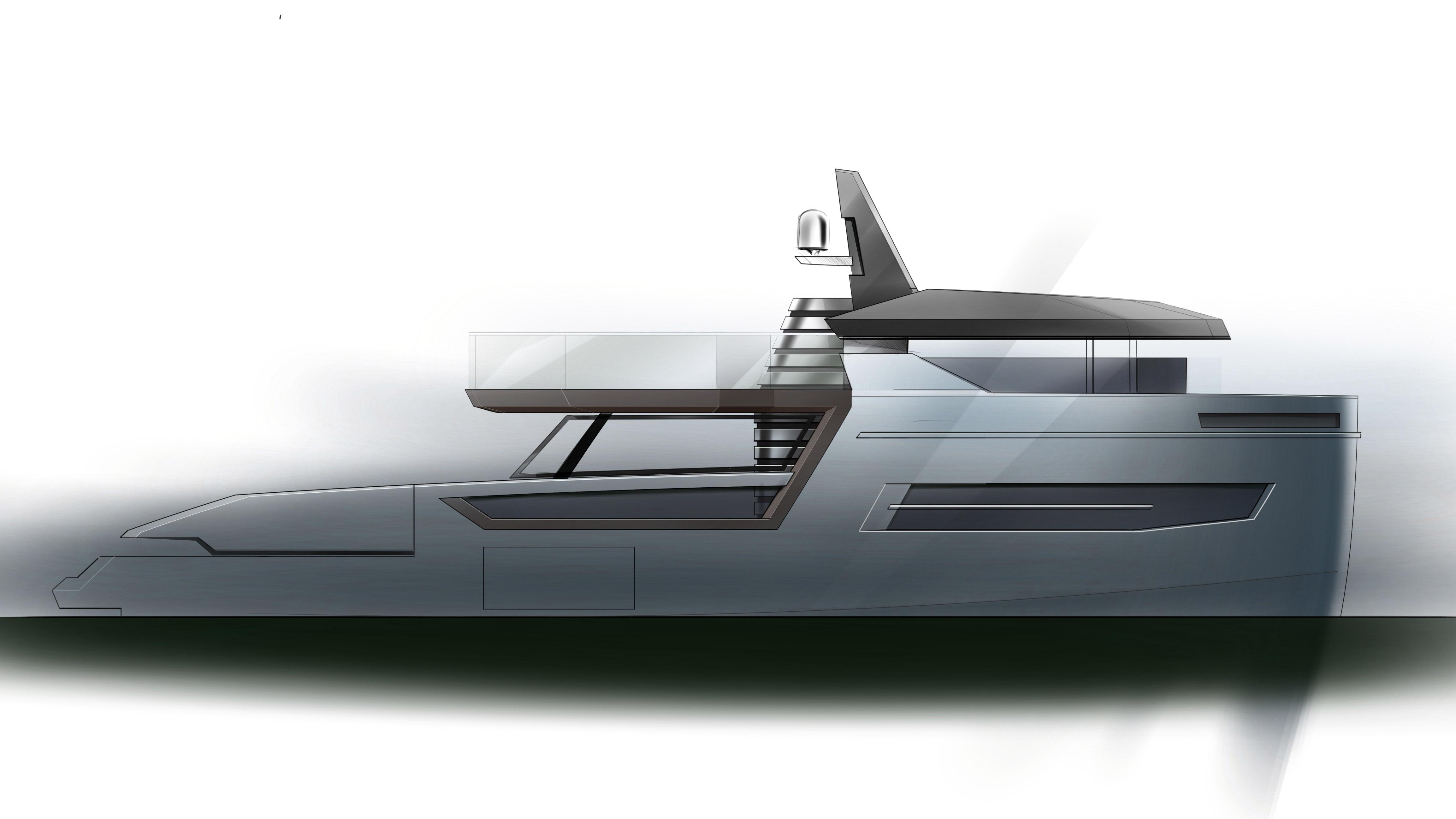 Arcadia Yachts Sherpa 72 Italian eco