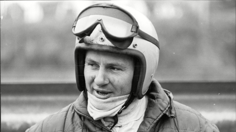 Racing legend Bruce McLaren, New Zealand's native son.