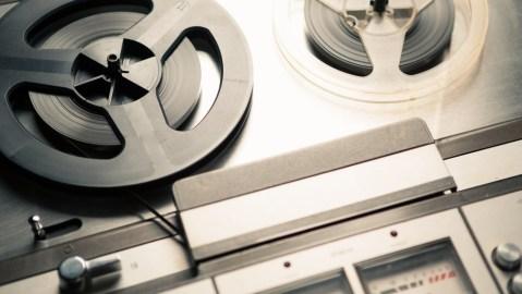 Reel-to-reel tape