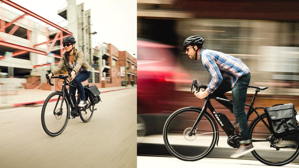 Trek CrossRip+ urban riding commute