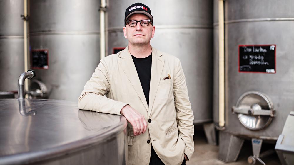 Steven Soderbergh portrait