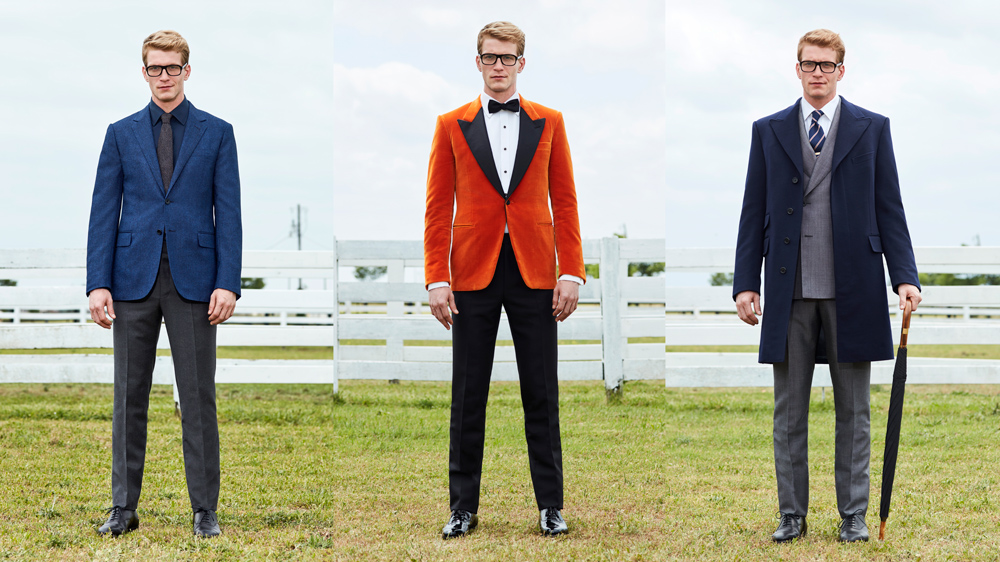 Mr Porter Kingsman suits