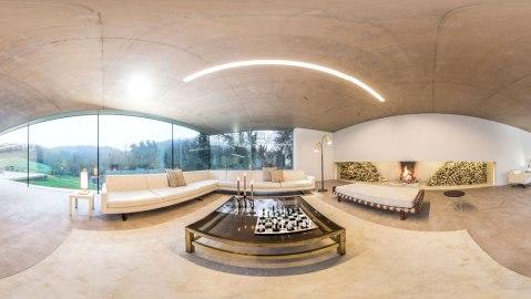 Swarovski and Mastercard Virtual Showroom living room