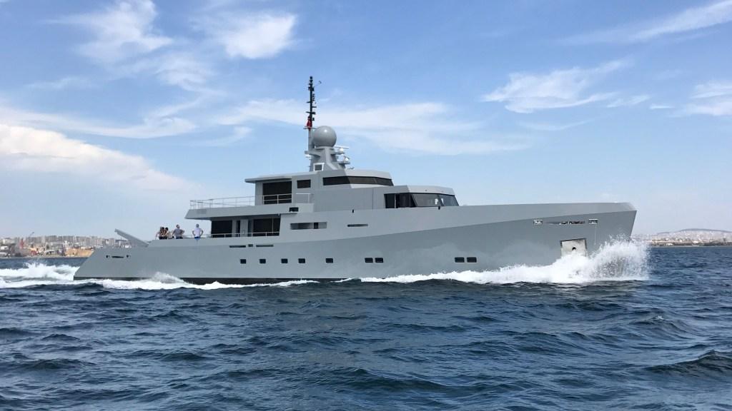 Tansu Cyclone Superyacht Monaco