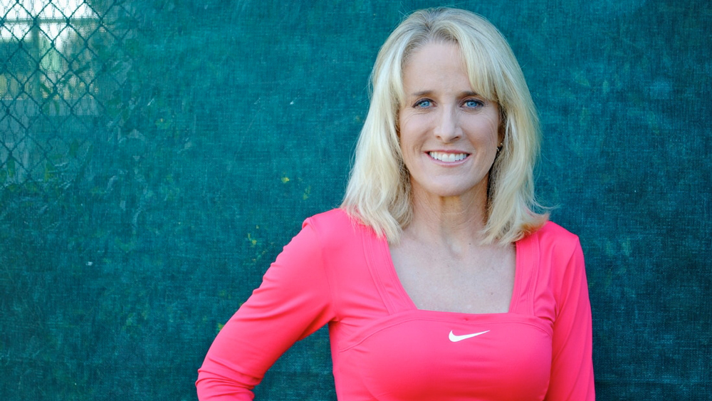 Tracy Austin portrait tennis player