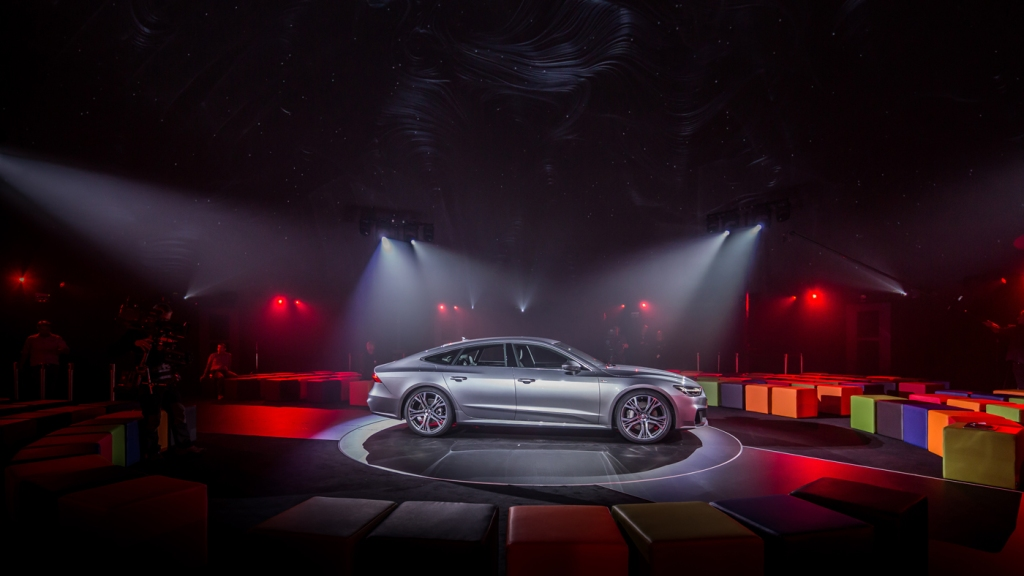 The Audi A7 Sportback.